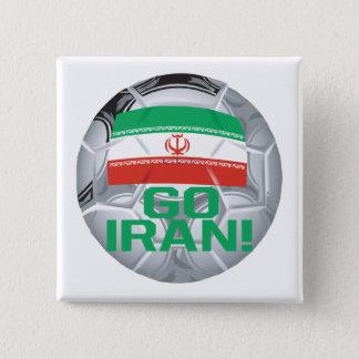 Go Iran 15 Cm Square Badge