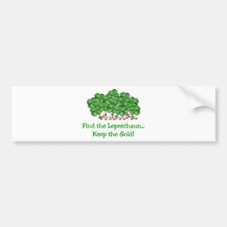 Go Irish! Bumper Sticker