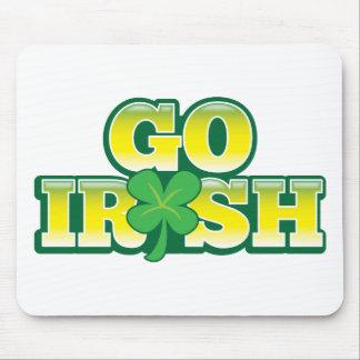 GO IRISH! great St Patricks day design Mouse Pad