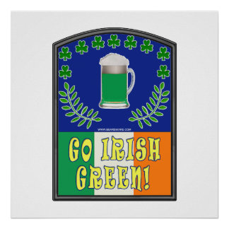 Go Irish Green Print