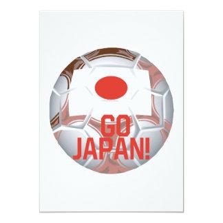 """Go Japan 5"""" X 7"""" Invitation Card"""