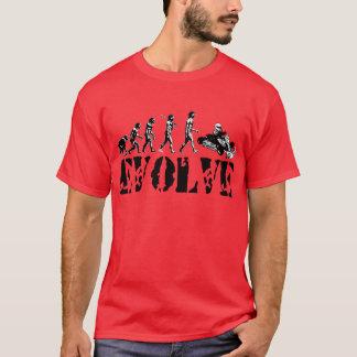 Go Kart Go-Kart Go Karts Evolution Sport Art T-Shirt