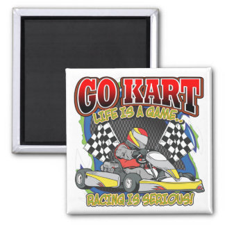 Go Kart Life Magnet