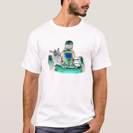 Go Kart Racer Inverted Colour T-Shirt