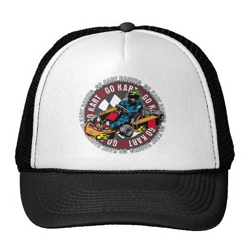 Go Kart Racing Mesh Hat