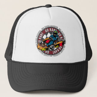 Go Kart Racing Trucker Hat