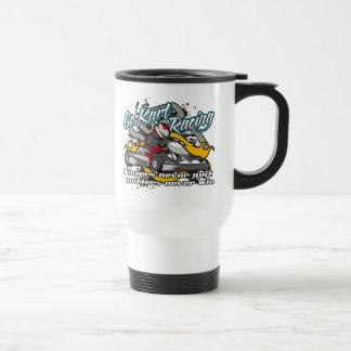 Go Kart Winners Stainless Steel Travel Mug