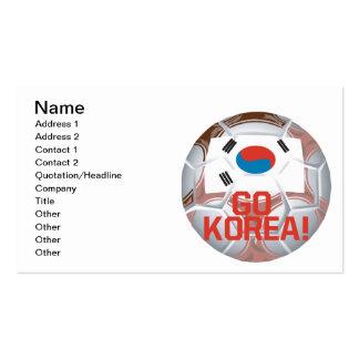 Go Korea Business Card