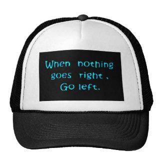 Go Left Mesh Hat