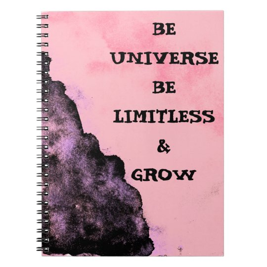 Go Limitless like Universe Notebook