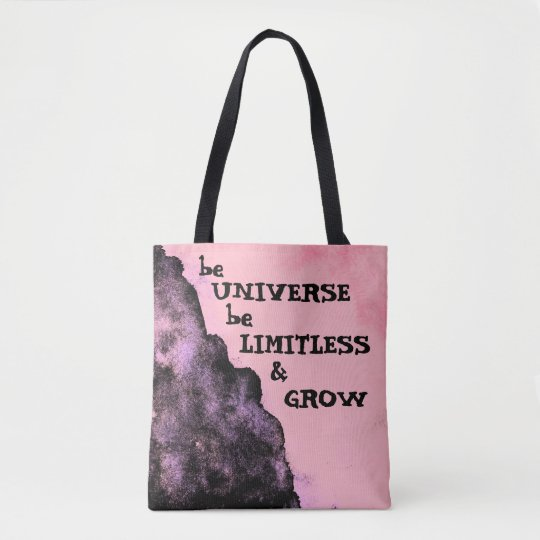 Go Limitless like Universe Tote Bag