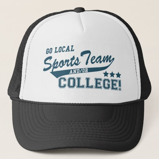 Go Local Sports Team and or College Trucker