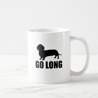 Go Long Dacshund Coffee Mug