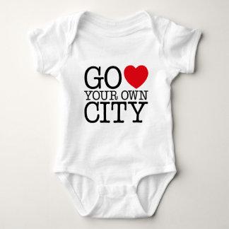 Go Love Own City! Baby Bodysuit