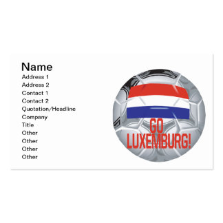 Go Luxemburg Double-Sided Standard Business Cards (Pack Of 100)