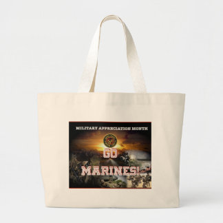 GO MARINES! TOTE BAG