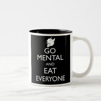 Go Mental Bull Terrier Mug