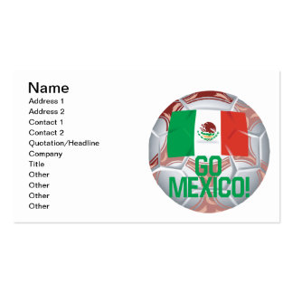 Go Mexico Double-Sided Standard Business Cards (Pack Of 100)