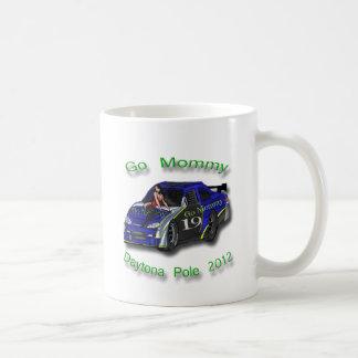 Go Mommy Daytona Pole 2012 Danica Patrick Basic White Mug