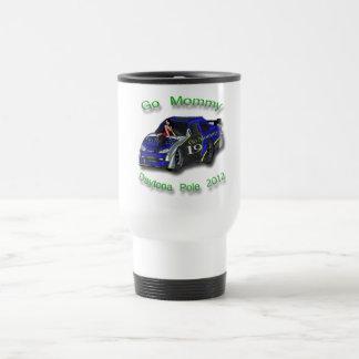 Go Mommy Daytona Pole 2012 Danica Patrick Stainless Steel Travel Mug