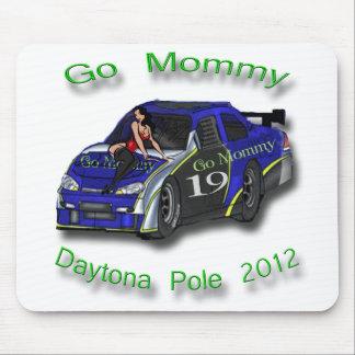 Go Mommy Daytona Pole Position 2012 Mouse Pads