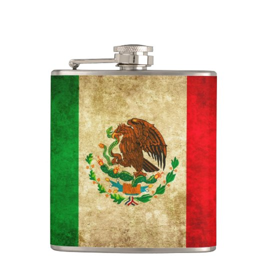 Go National with this Mexican Flag Design Flask