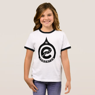 Go North Girls Ringer T-shirt