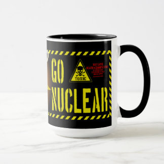 Go Nuclear Cockroach Style Mug