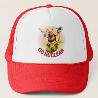 Go Nuclear Trucker Hat