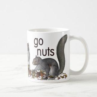 Go Nuts Basic White Mug