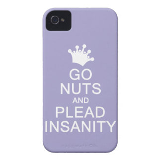 GO NUTS custom color Blackberry case