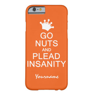 GO NUTS custom color cases Barely There iPhone 6 Case