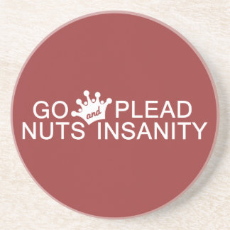 GO NUTS custom color coaster