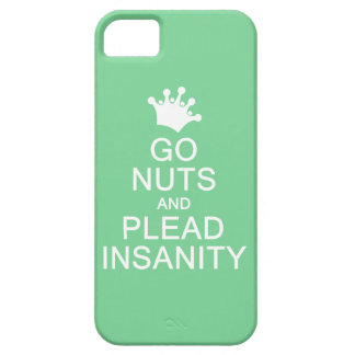 GO NUTS custom color iPhone case