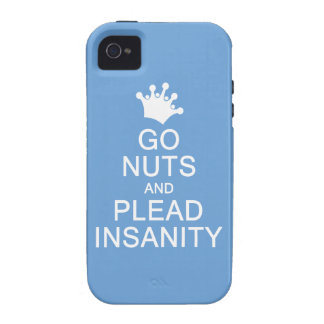 GO NUTS custom color iPhone case-mate Vibe iPhone 4 Covers
