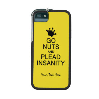 GO NUTS custom color iPhone cases Cover For iPhone 5