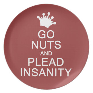 GO NUTS custom color plate