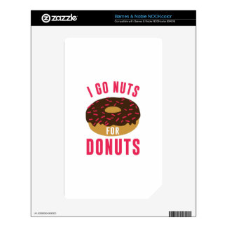 Go Nuts For Donuts Decals For The NOOK Color