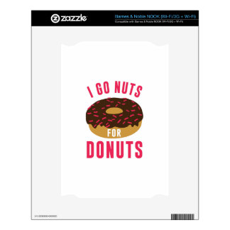 Go Nuts For Donuts NOOK Skins