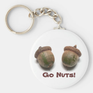 Go Nuts! Keychain