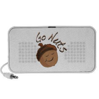 Go Nuts Laptop Speakers