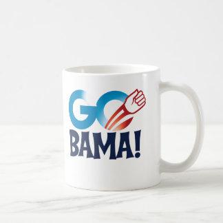 Go Obama Basic White Mug