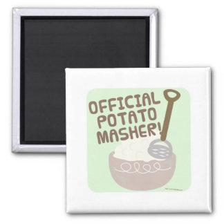 Go Official Potato Masher Go Magnet