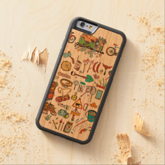 Go On for Adventures! That's time! Cherry iPhone 6 Bumper Case