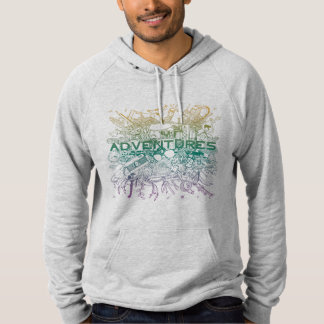 Go On for Adventures! That's time! Hoodie