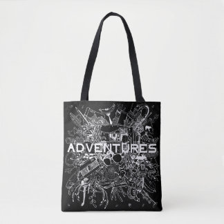 Go On for Adventures! That's time! Tote Bag