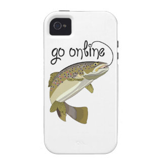 GO ONLINE FISHING Case-Mate iPhone 4 COVER