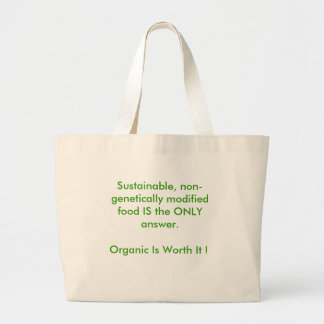Go Organic Large Tote Bag
