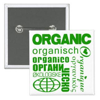 Go Organic! Multilingual Button