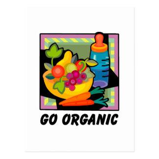 Go Organic Postcard